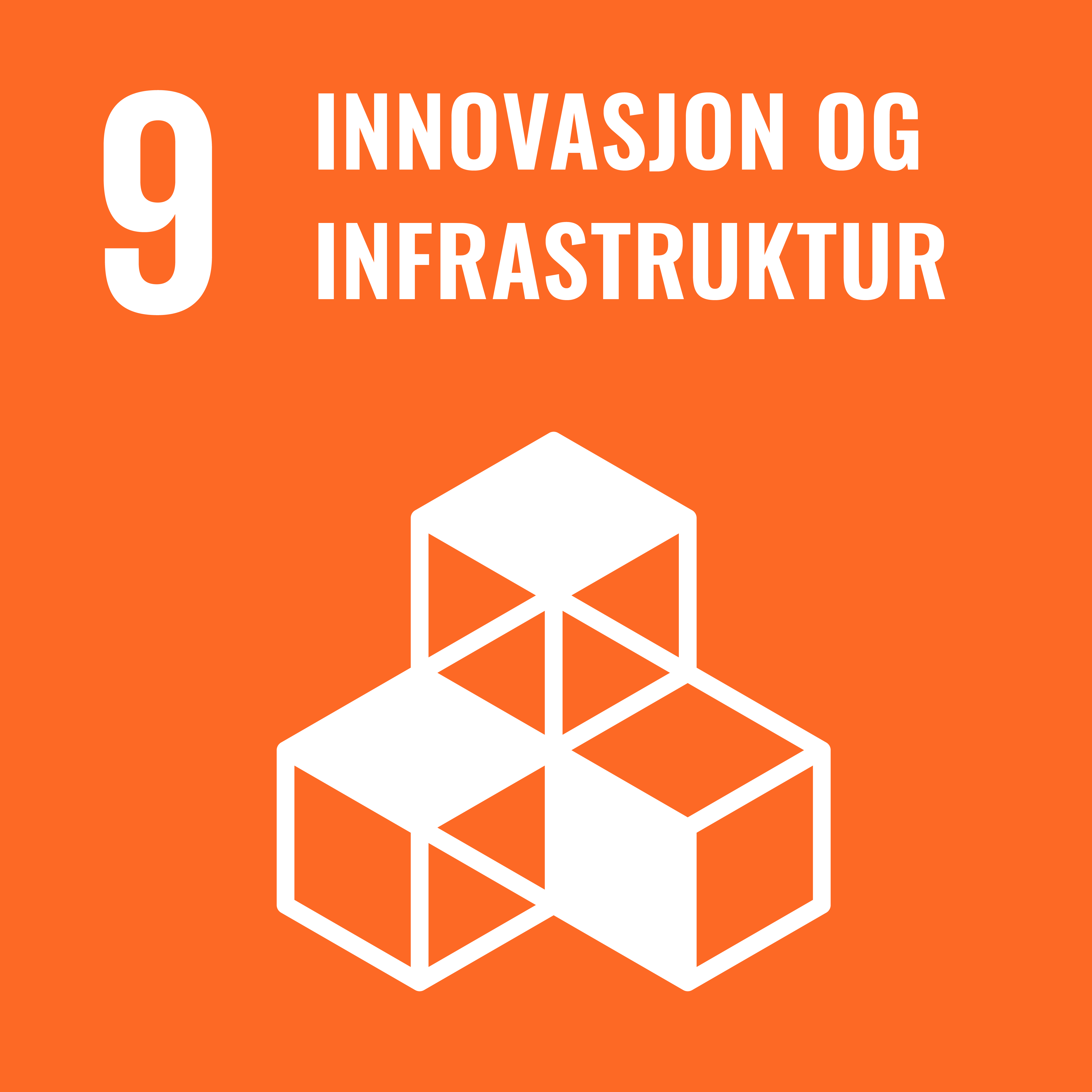 9 Innovasjon og infrastruktur